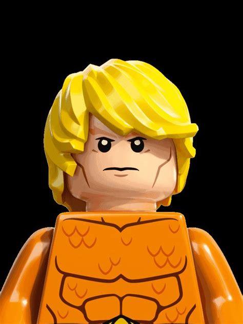Lego Heroes Aquaman aquaman personajes dc comics heroes lego