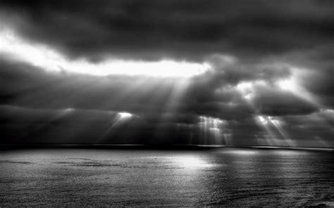 black and white ocean wallpaper dark clouds wallpapers wallpaper cave