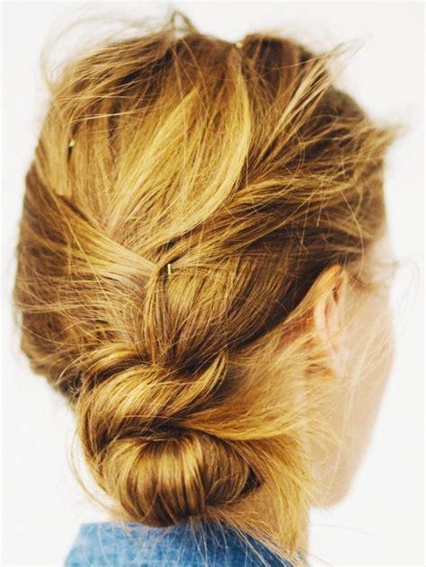 bun hair direction low messy bun hairstyle tutorial hair ideas easy how to
