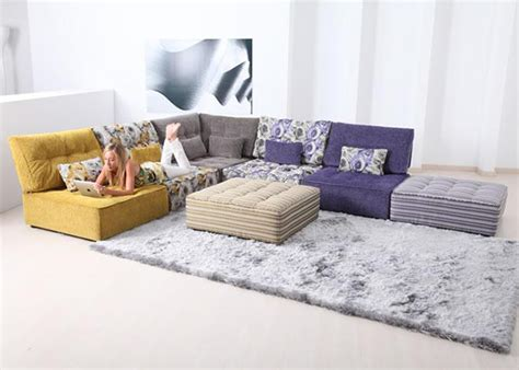 low modular sofa low seating living room furniture ideas by fama