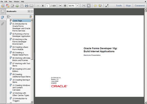 tutorial oracle forms 10g oracle forms 10g tutorial ebook download oracle forms blog