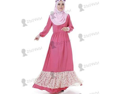 Promo Tunik Murah Baju Muslim Dress Baju Pink Hotd Ribone T 810015 muslimah jubah dress end 11 9 2019 9 25 pm