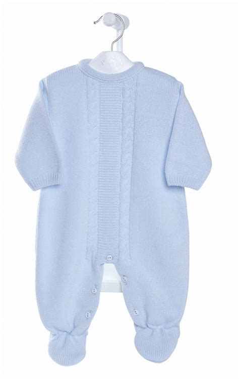 A2623 New Boys Knitted Onesie