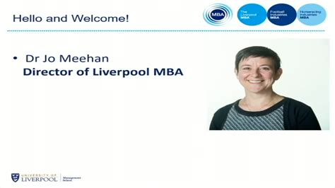 Of Liverpool Mba by Of Liverpool Liv Ac Uk And