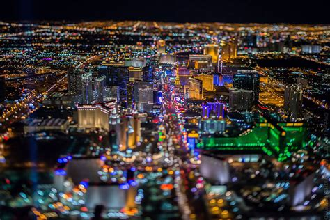 Vegas Light Show las vegas from 10 800 feet up looks like nothing you ve