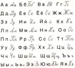 cyrillic alphabet modern foreign languages russian