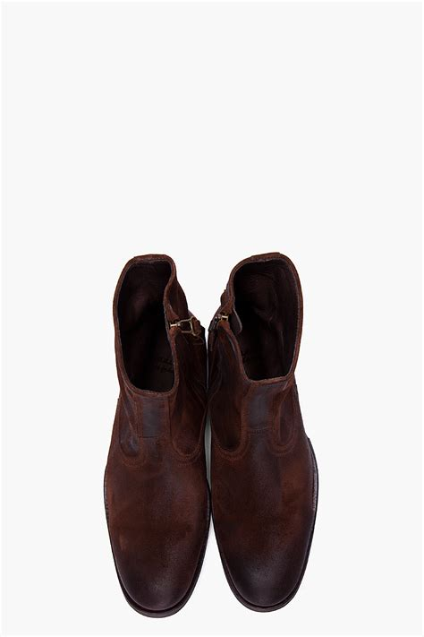 Ndc Handmade - ndc espresso christopher softy boots in brown for lyst