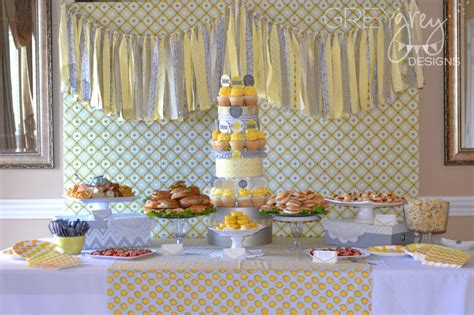 Gray And Yellow Baby Shower by Gallery Roundup Yellow Baby Showers Project Nursery