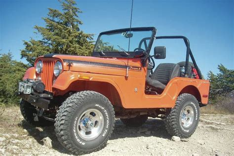 Orange 1971 Jeep Cj 5 Renegade Jeepfan Com