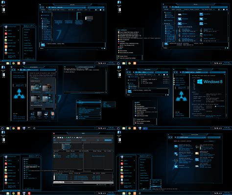 download themes for windows mobile 6 1 windows 8 1 theme new sci fi by tono3022 on deviantart