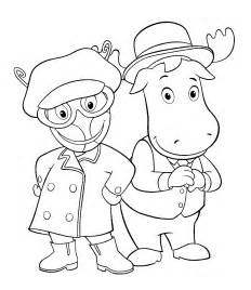 printable coloring pages free printable backyardigans coloring pages for