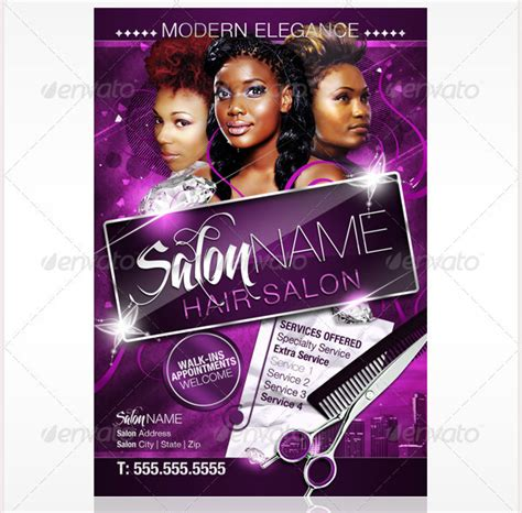 Hair Salon Flyer Templates 67 salon flyer templates free psd eps ai illustrator format downlaod free