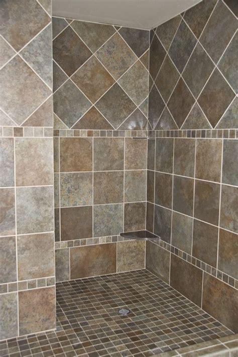 bathroom tile design patterns best 25 walk in shower designs ideas on