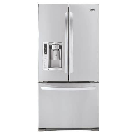 lg door refrigerator maker problems shop lg 24 9 cu ft door refrigerator with single