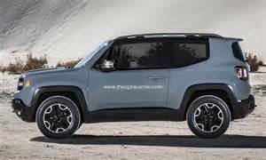 2015 jeep renegade 3 door rendering autoevolution
