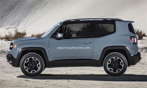Jeep Considering Sub Renegade Crossover