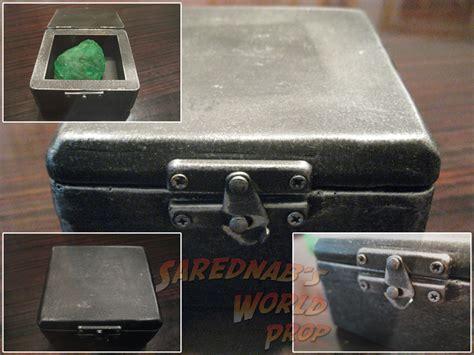 Smallville Replica Kryptonite Box by Smallville Sarednab S World Prop Indiana Jones Prop