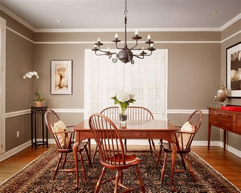 paint colors for dining rooms with chair rail one color walls with chair rail search paint