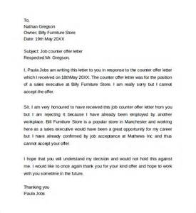 Cover Letter Word Count by Counter Offer Letter Salary Negotiation Counter Offer Letter Template Counter Offer Letter