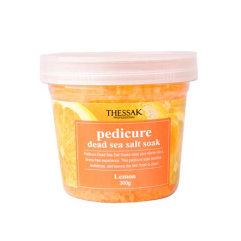 Sea Salt Lemon Detox by Thessak Dead Sea Salt Soak Lemon Thessak Other Bodycare