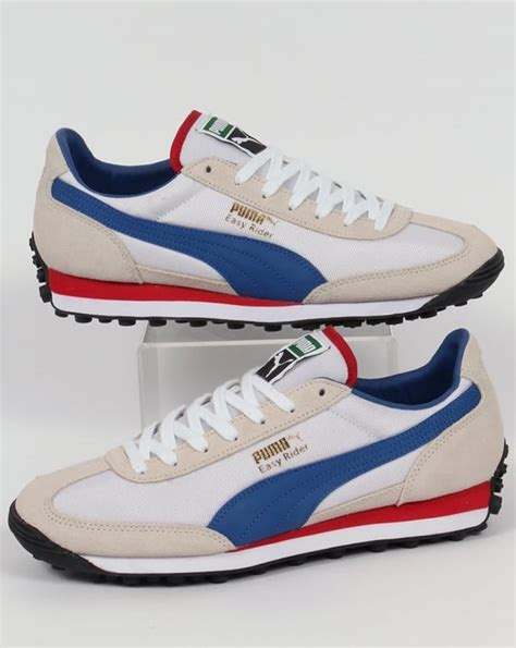 easy rider shoes easy rider trainers white true blue shoes retro