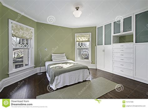 master bedroom green master bedroom with green walls royalty free stock images image 15757339