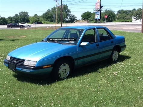 how cars run 1993 chevrolet corsica parental controls 1993 chevrolet corsica lt sedan 4 door 3 1l