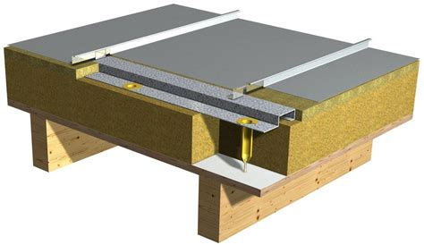 Exciting House Plans by Vieo Metal Seam Roof Profile Manufactured By Euroclad 174