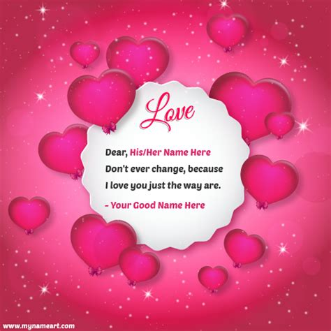 beautiful greeting cards with my name and lover write name on pink card pictures wishes