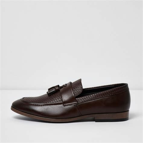 brown tassel loafers brown tassel woven loafers shoes boots sale