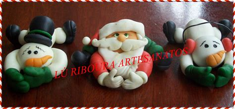 Lu Natal l 218 riboura artesanatos biscuit de natal