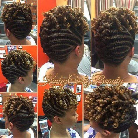 Cornrow And Twist Hairstyles by 1000 Ideas About Cornrows Updo On Cornrow