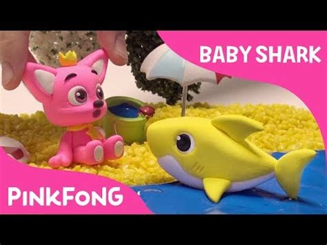 baby shark mp4 how to make a clay baby shark pinkfong clay animal