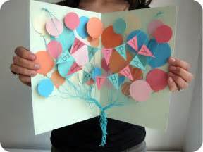 cards and papercrafting balloons birthday card