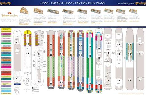 disney magic floor plan deck plans disney dream disney fantasy the disney