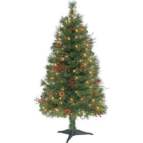 7 ft pre lit rocky ridge pine artificial christmas tree