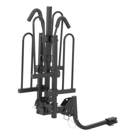 Bike Rack Styles by Curt Trailer Hitch Mount Tray Style Bike Rack Carrier For