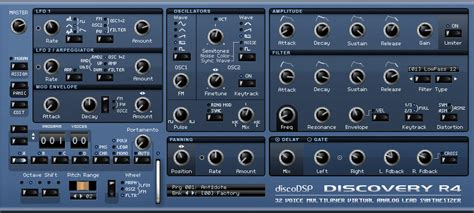 zedd kvr kvr discovery by discodsp synth analogue subtractive