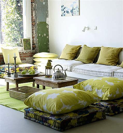 sitzkissen landhausstil orientalische wohnideen versch 246 nern sie ihr wohnzimmer mit