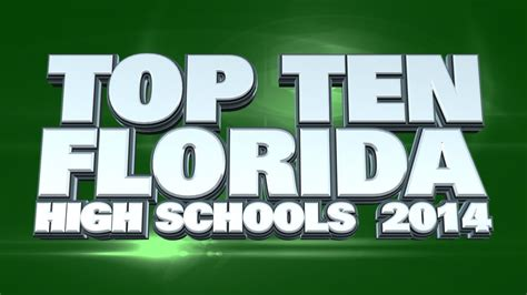 Best Mba Programs 2014 Florida by Top 10 Best High Schools In Florida 2014