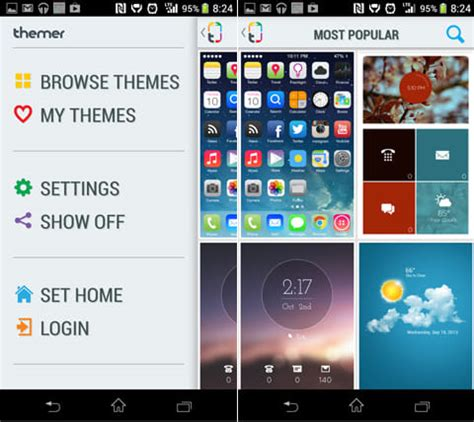 themer beta themes themer beta ホームアプリの設定は 簡単 が一番 クールなホーム画面へ一発変換