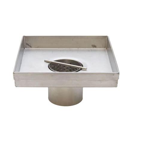 Square Shower Drain by Square Shower Drains 5 In Shower Drain Square Only Dd05sbo The Home Depot