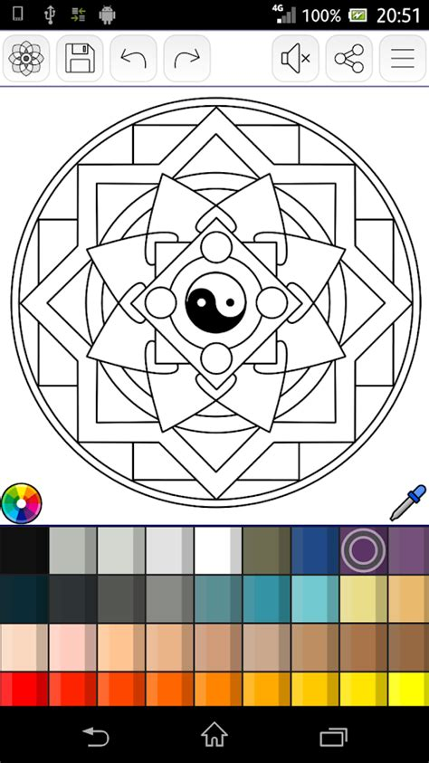 mandala coloring pages app mandalas coloring pages android apps on play