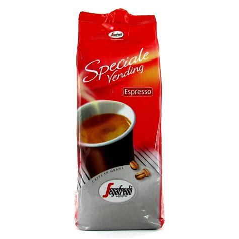Café en Grains Segafredo Speciale Vending Espresso   1 Kg   Segafredo Zanetti