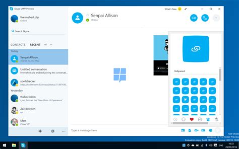 better than skype exclusive look at microsoft s upcoming skype uwp