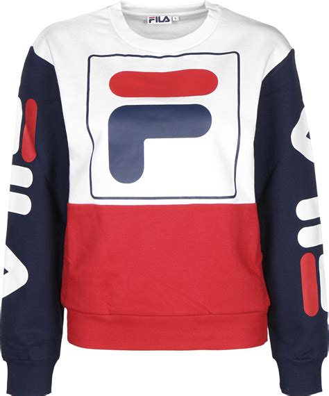 Sweater Fila Fila Date Crew W Sweater White Blue