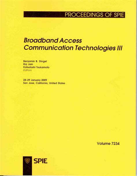 s pie books broadband access communication technologies iv