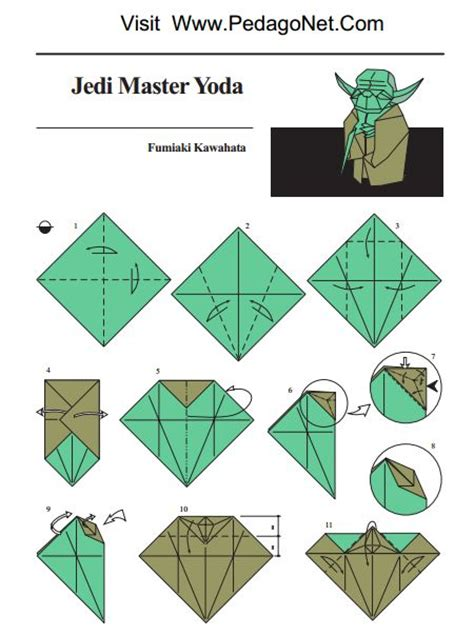 How To Make Origami Yoda - how to make origami yoda step by step 28 images