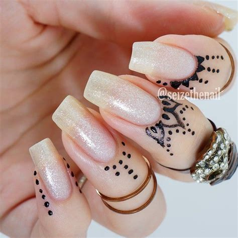 nail art with tattoo henna 59 best images about cuticle tattoos on nail