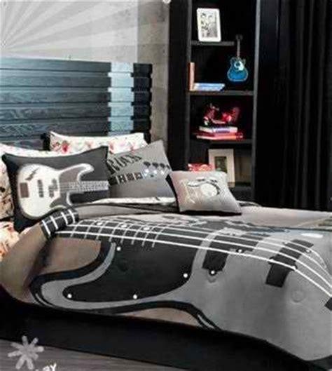 guitar bedroom 11 cool teen boy comforter sets